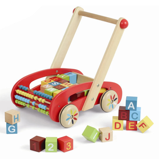 ABC Walker with Blocks