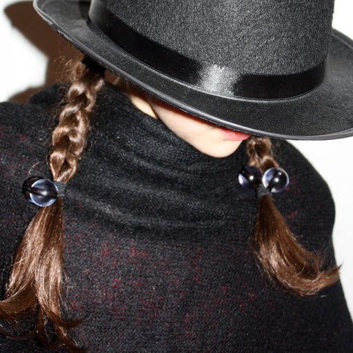 Hair Bobbles - 2 pcs / Black