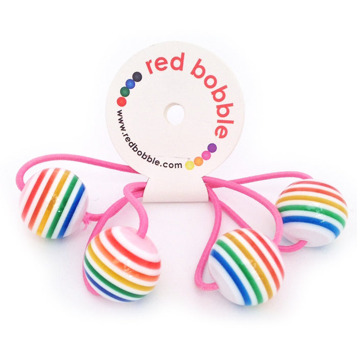 Hair Bobbles - 2 pcs / Rainbow