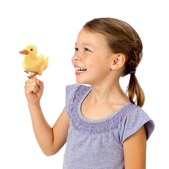 Mini Duckling Finger Puppet