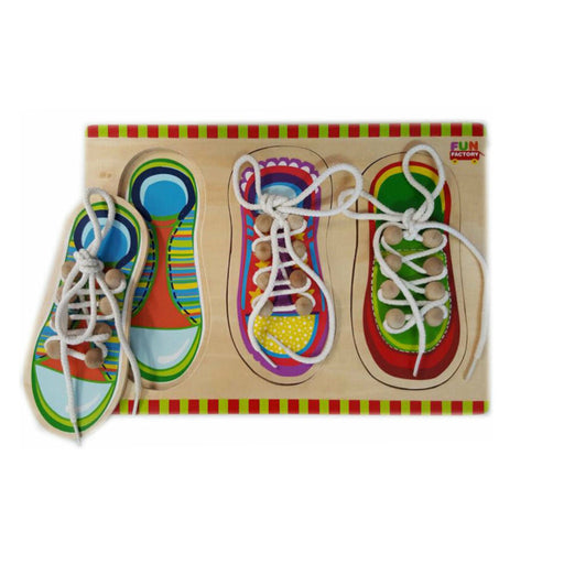 Puzzle - Shoe Lacing / 3 pcs