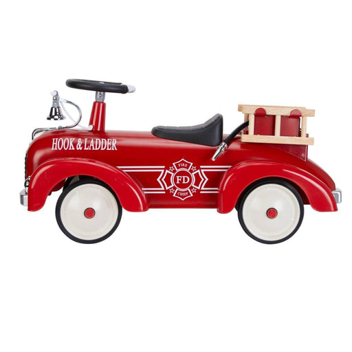 Metal Speedster - Fire Engine