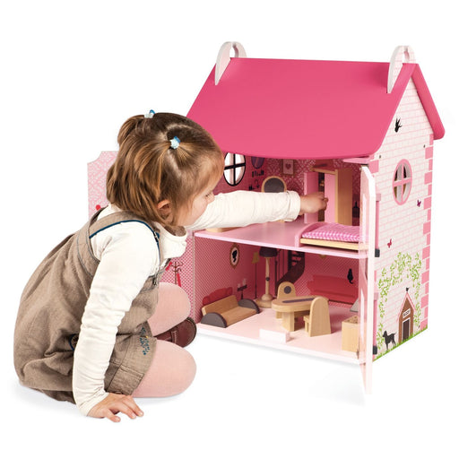 Mademoiselle Dolls House incl. Furniture Set