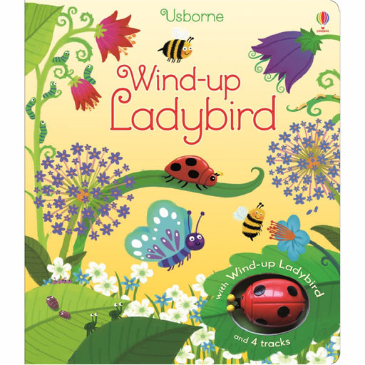 usborne wind up ladybird book cover
