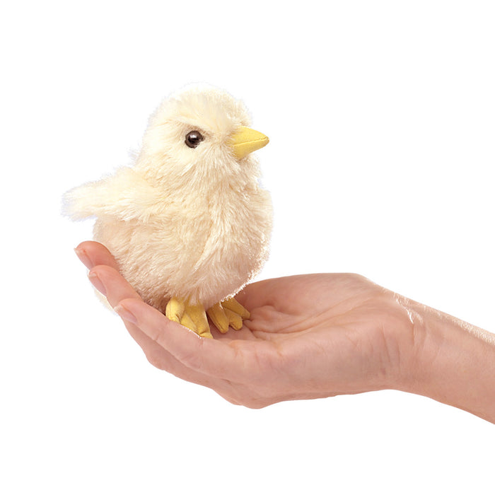 Mini Chick Finger Puppet