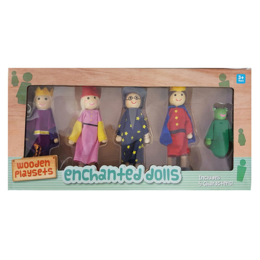 Bendable Doll Set - Enchanted / 4 pcs