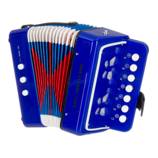 Button Accordion - Blue