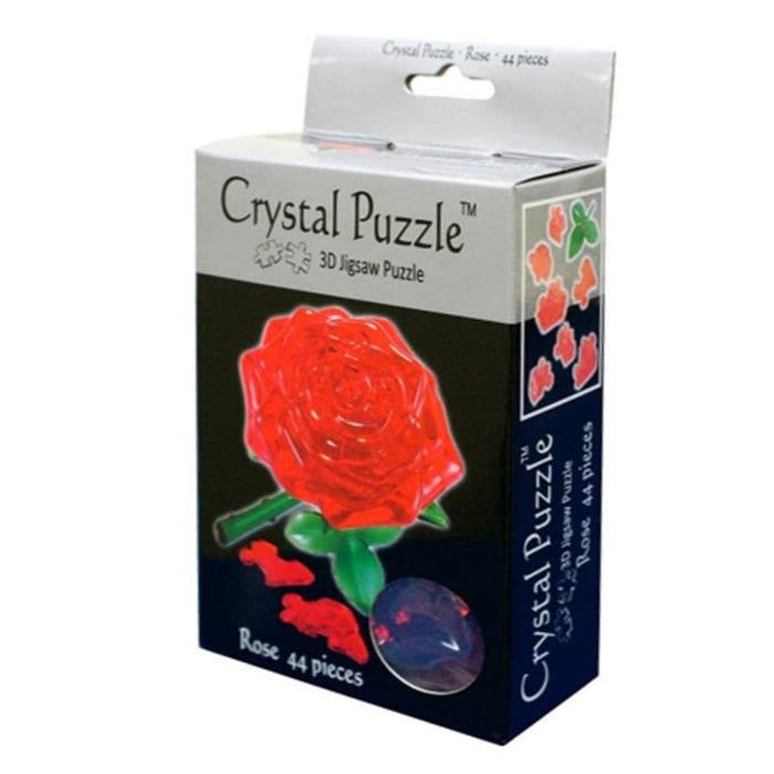 3D Crystal Puzzle - Rose / 44 pcs