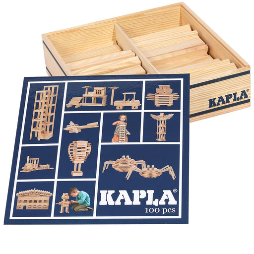 kapla 100 box natural inside