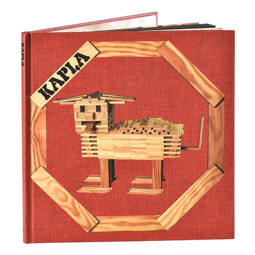 kapla art book red hero