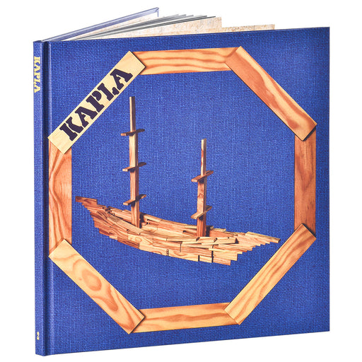 kapla art book blue hero