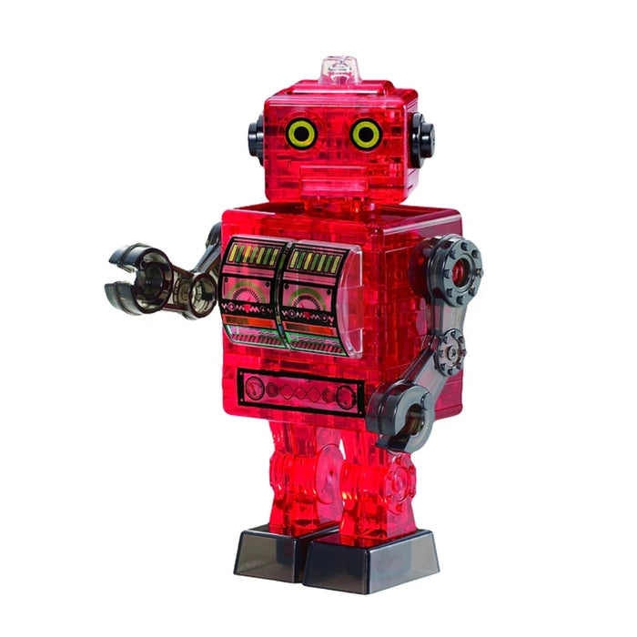 3D Crystal Puzzle - Tin Robot / 39 pcs