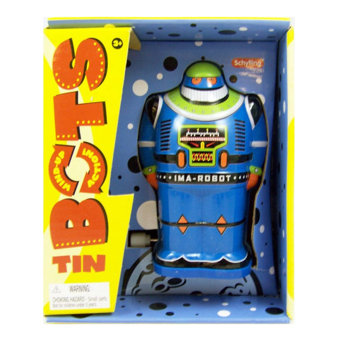 Wind-Up Tin Robot