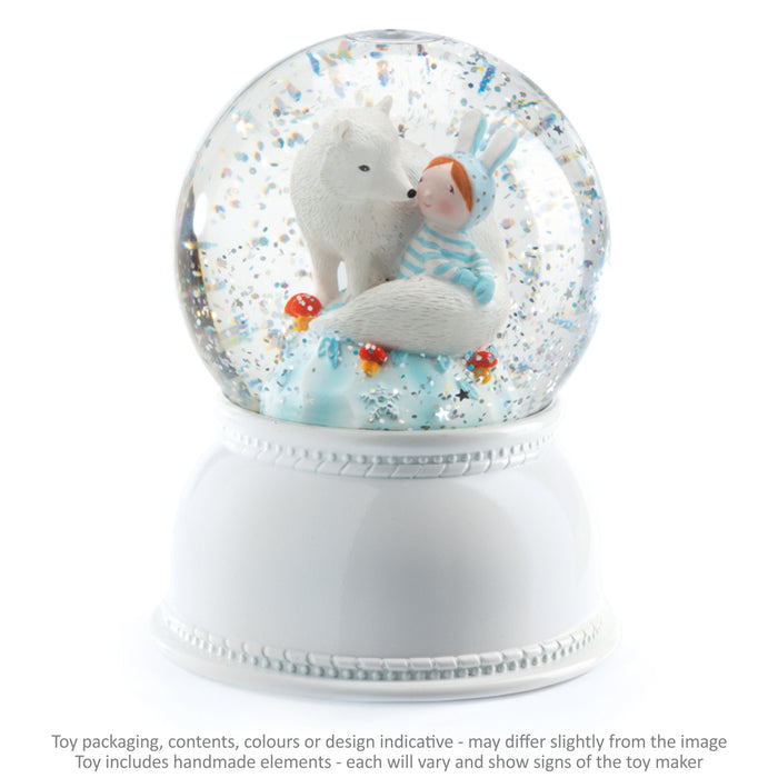 Globe Night Light - Lila and Pupi