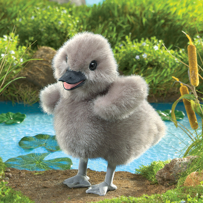 Baby Swan Puppet