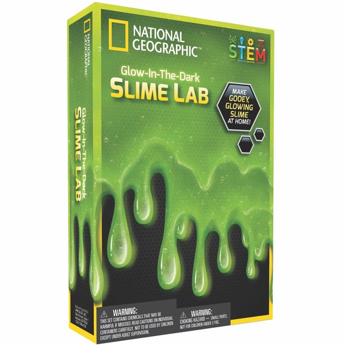 Glow-in-the-Dark Slime Lab - Green