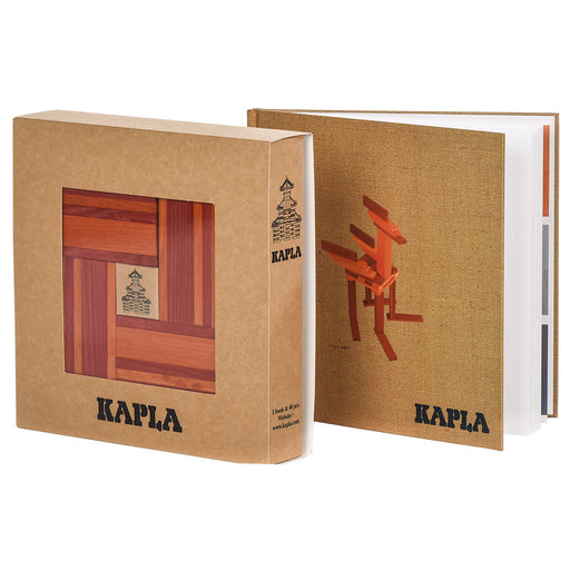 kapla 40 box orange red book hero