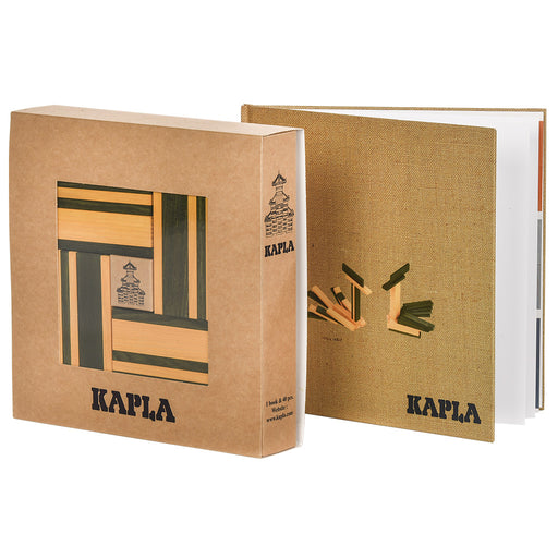 kapla 40 box green yellow book hero
