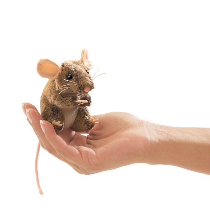 Mini Field Mouse Finger Puppet