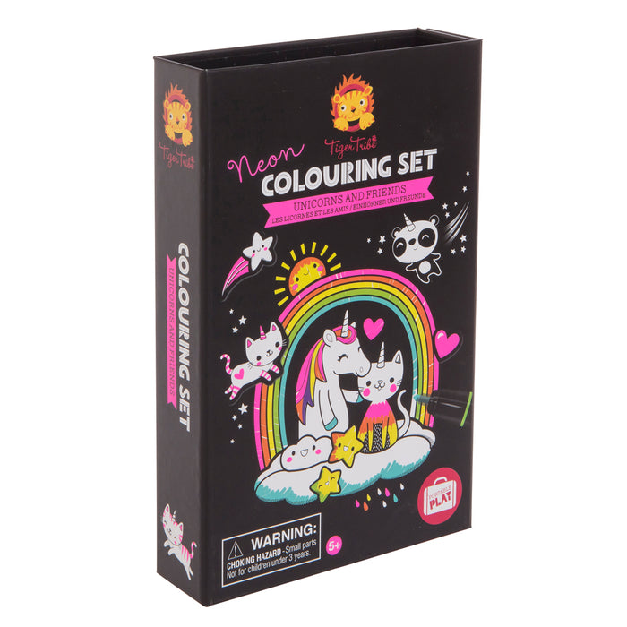 Colouring Set - Unicorns and Friends