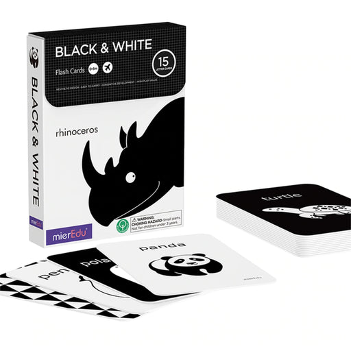 Cognitive Flash Cards - Black and White