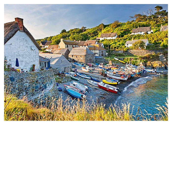 1000 Piece Puzzle - Cadgwith, Cornwall