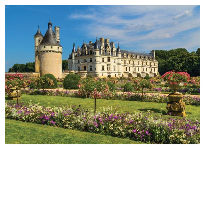 1000 Piece Puzzle - Castle in the Loire, France