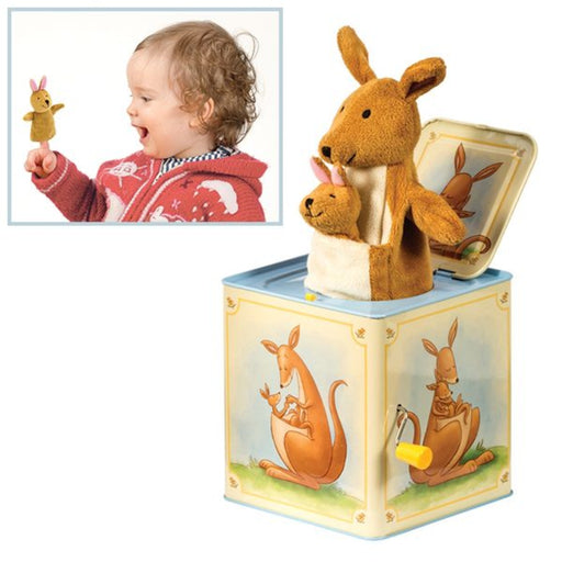 Jack-in-the-Box - Kangaroo and Baby Too