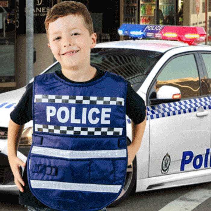 Dress-Up Vest - Policeman / One Size