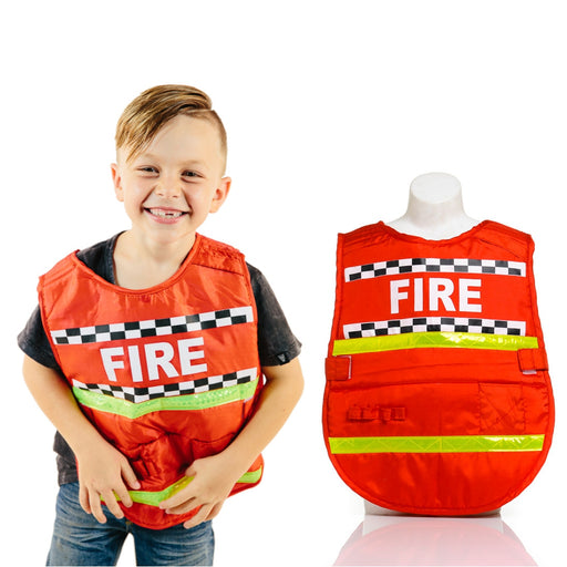 Dress-Up Vest - Fireman / One Size