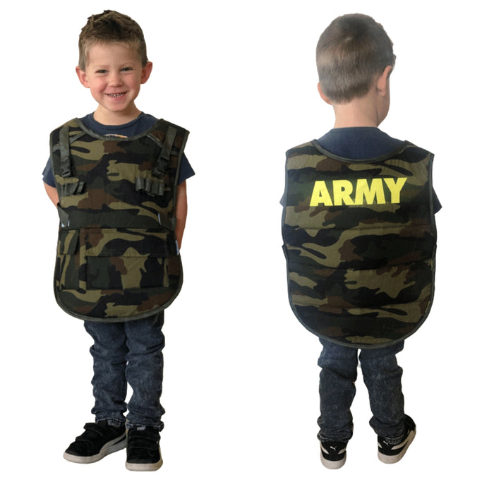 Dress-Up Vest - Army / One Size