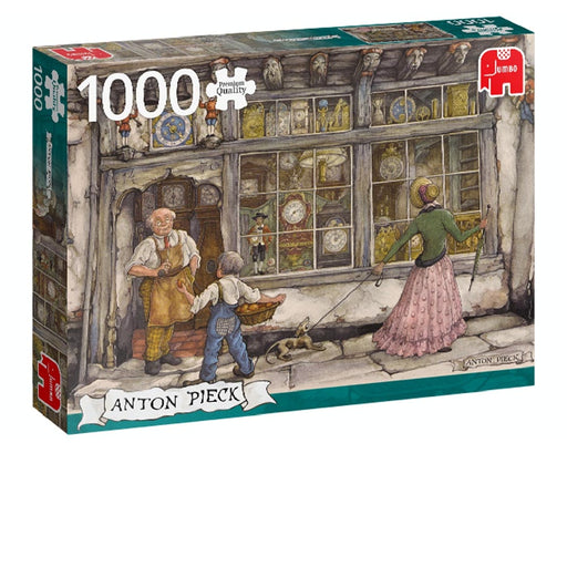 1000 Piece Puzzle - Anton Pieck / The Clock Shop