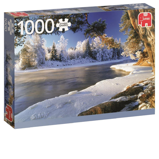 1000 Piece Puzzle - Dal River Sweden