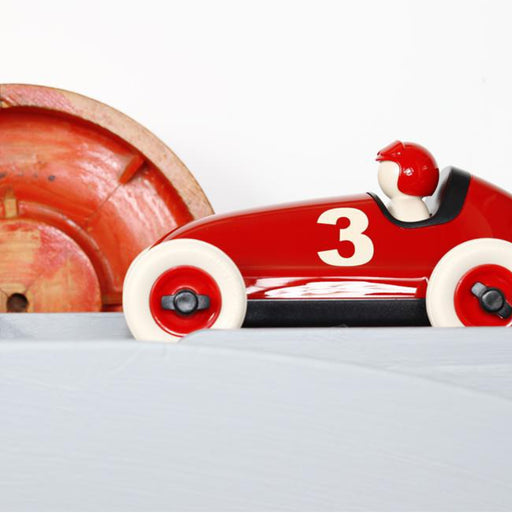 Bruno Racing Car - Red / No. 3
