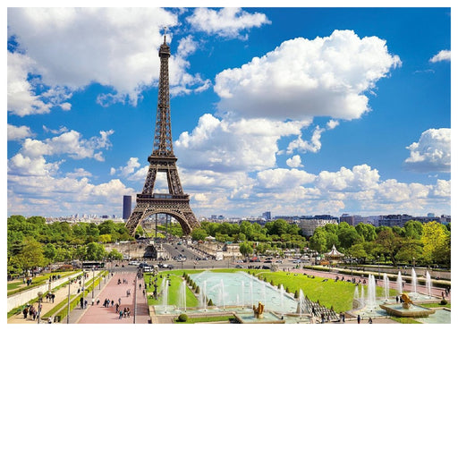 1000 Piece Puzzle - Eiffel Tower in Summer, Paris