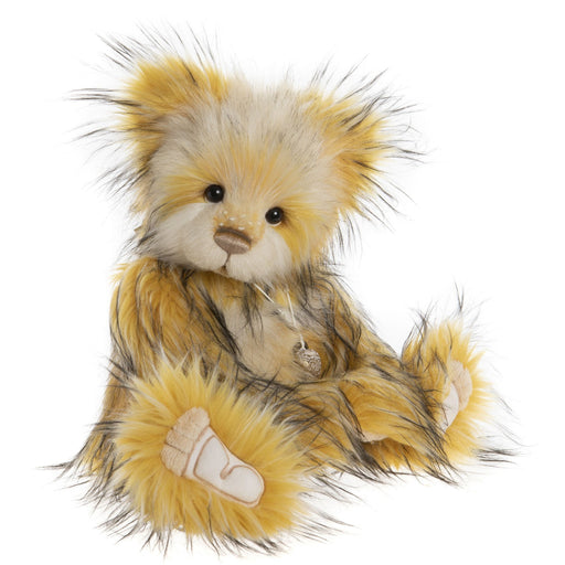 charlie bears 2020 plush cheese whizz hero