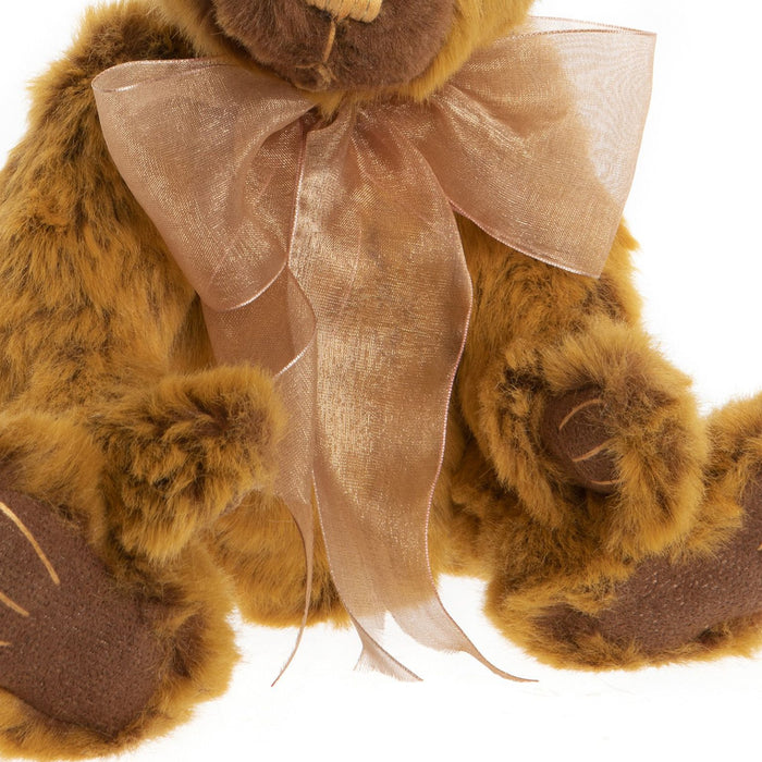 charlie bears 2020 plush dylan feature bow