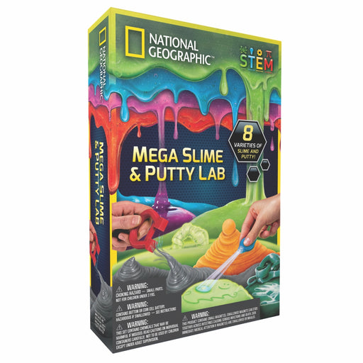 Mega Slime and Putty Lab