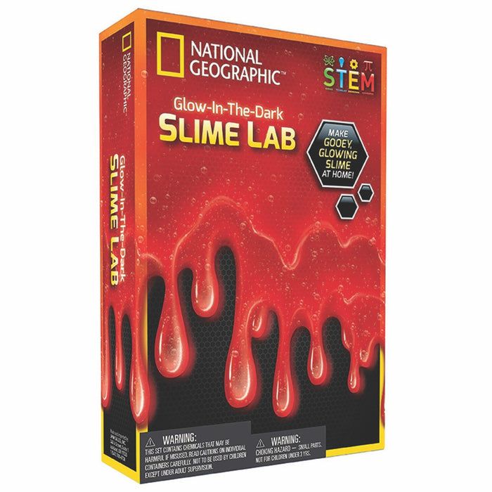 Glow-in-the-Dark Slime Lab - Red