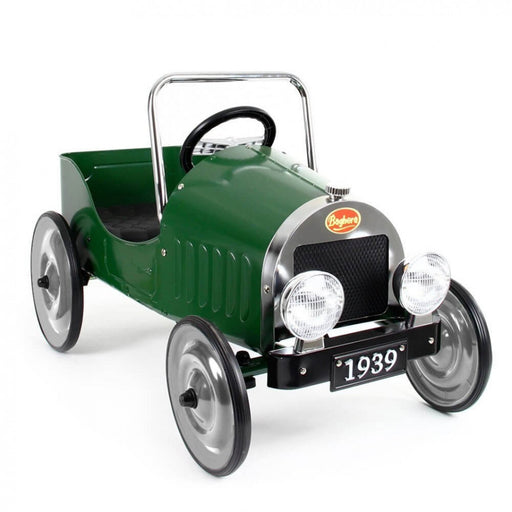 baghera pedal car green hero