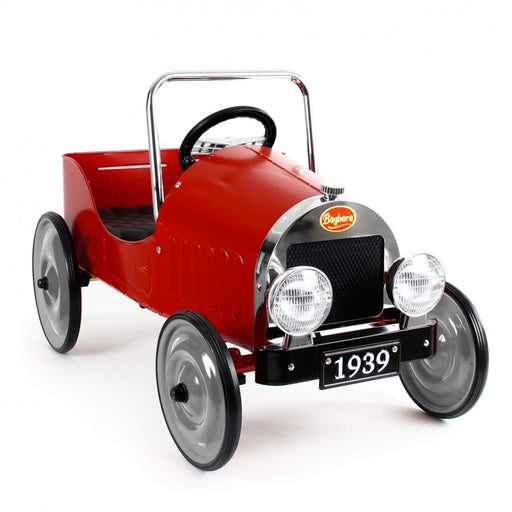 baghera pedal car red hero