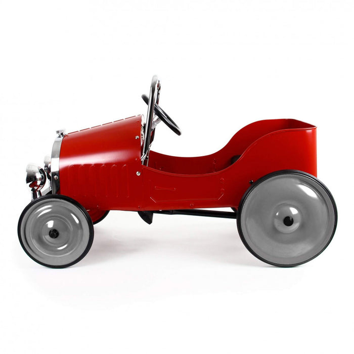 baghera pedal car red side