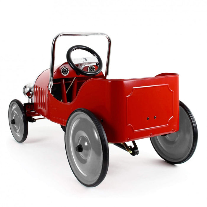 baghera pedal car red back