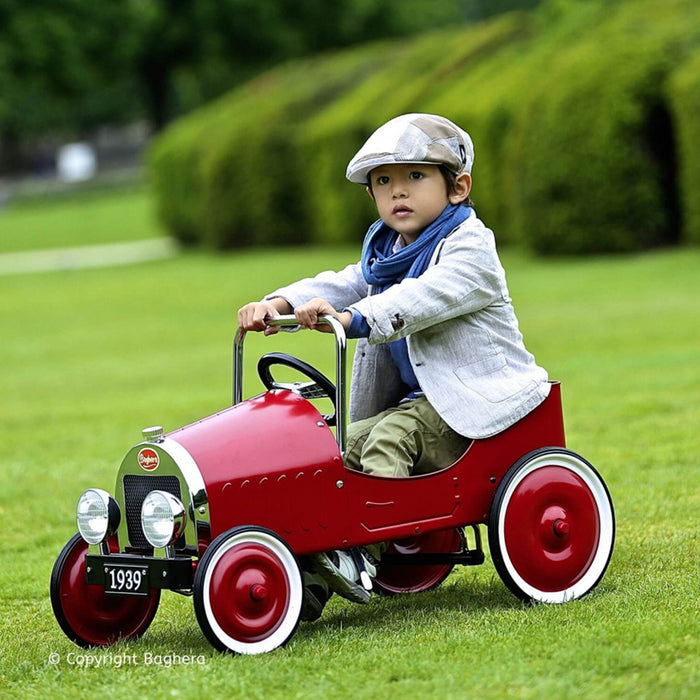 baghera pedal car red lifestyle