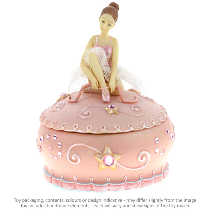 Musical Jewellery Box - Ballerina / 11 cm
