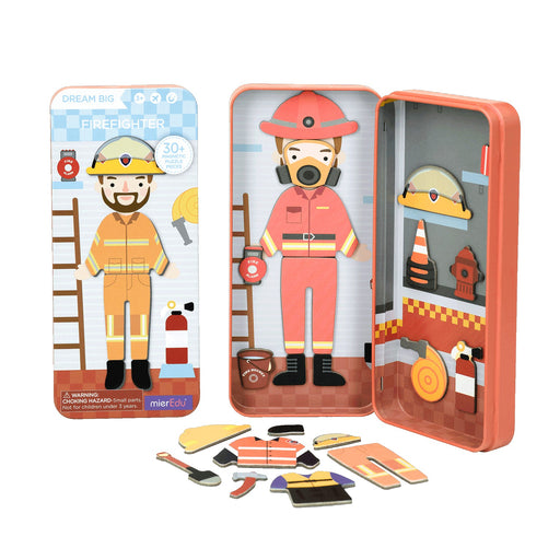 Magnetic Puzzle Box - Fire Fighter