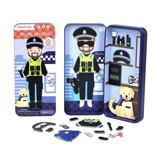 Magnetic Puzzle Box - Police Officer