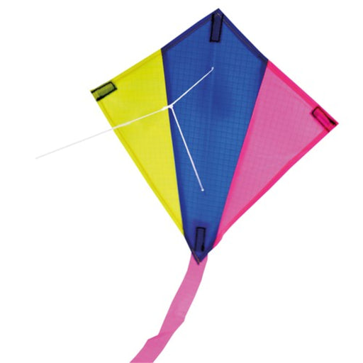 Mini Flyer Kite - Single Line / Diamond / 25 x 24 cm
