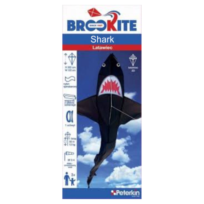 Shark 3D Kite - Single Line / 305 x 122 cm