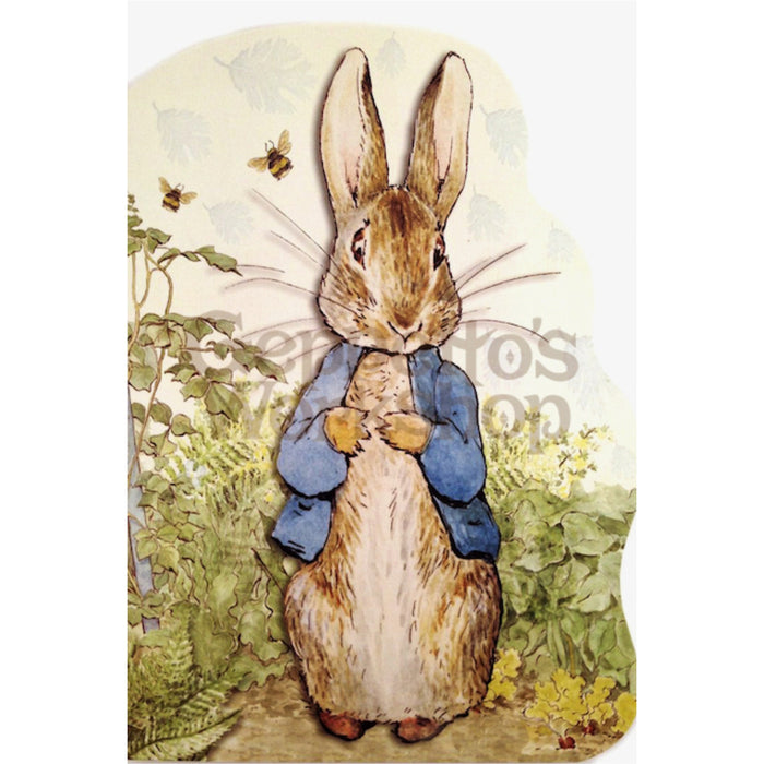 Greeting Card - Peter Rabbit / Standing